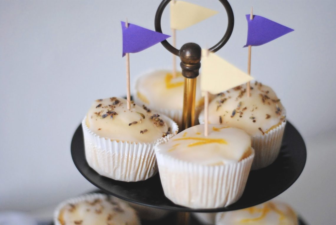 Vegan Food Lavendel Zitronen Muffins Mari Dalor